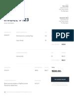 Invoice Template - 01