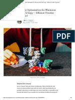 Portfolio Optimization for Minimum Risk With Scipy — Efficient Frontier Explained