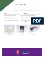 111525 Emborg Natural Yogurt Product Sheet A4