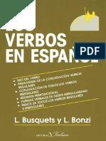 Los verbos en espanol - Busquets, Loreto; Bonzi, Lidia.pdf