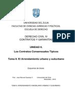 8- Arrendamiento Urb y Sub - 2014