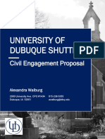 ud shuttle proposal