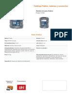 Especificaciones Tecnicas de Señalizacion Vertical