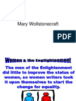 Mary Wollstonecraft Historical Content Powerpoint