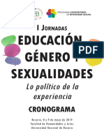 Educación, Género y Sexualidades