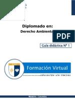Guia Didactica 1-DA Principios Del Derecho Ambiental