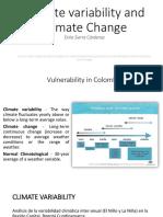 Valiabilidad y Cambio Climático