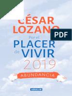 Por El Placer de Vivir 2019 Extracto