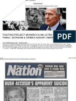 Fighting Project Monarch & Mk-ultra_ the Bush Family, Satanism & Crimes Against America – Fighting Monarch