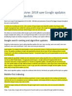 SEO Year in 2018 saw Google updates and a focus on mobile.pdf