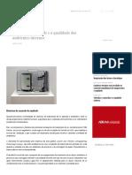 Controle de Umidade e a Qualidade Dos Ambientes Internos - Portal EA