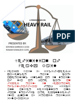 Heavy Rail Presentation