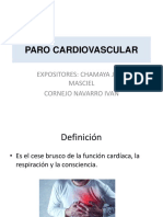 Paro Cardiovascular r