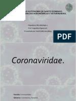 Coronaviridae. Iván E.