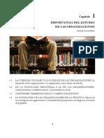 02 Capítulo1 Importancia Del Estudio de Las Organizaciones