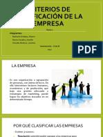 Criterios de Clasificación de La Empresa Ppt (1)