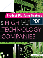 9-30-15 Product Platform Strategy Release 002 Mb Foreword 2 Title Page