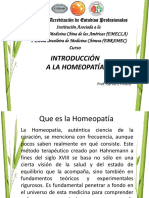 Manual Introduccion de La Homeopatia