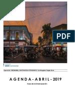 Agenda Cultural Casa de La Emancipación Abril 2019