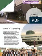 School of Engineering -Research Brochure 2018-2019