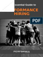 The Essential Guide to Performance Hiring