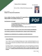 Prof. Dr.C.R Resume 08 10 2018
