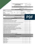 Encuesta Autoreporte de Condiciones de Salud y Trabajo
