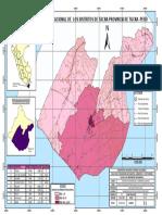 Mapa de Densidad Poblacional PROVINCIA TACNA