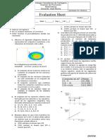 Examen de Matematicas 9° Promoción