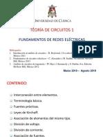 Capítulo 1 - 2 Fundamento de Redes Eléctricas