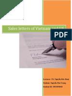 Sales Letters Comparison