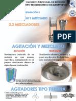 Mezclado - Operaciones unitarias