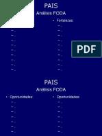 Análisis FODA - Template.ppt