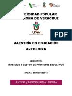 Antología  - Dirección y gestión de proyectos educativos.pdf