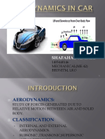 Ppt 4th Year on Aerodynamics in Car