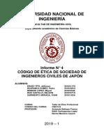 Informe N°4 Ética (Artículos 1-5)