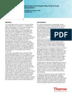 Cuantificación de Acidos Grasos Por HPLC