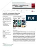 Mejoramiento de lodos con nanotecnología