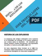 Historia de Los Explosivos Teofilo