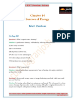 CBSE CBSE Class 10 NCERT Solution Science Sources of Energy