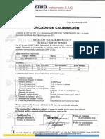 CERTIFICADO TCR0001