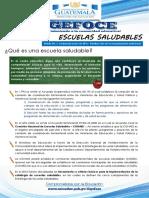 Boletín No 5 Escuelas Saludables General (1)