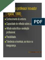 04 o Perfil Do Professor Inovador