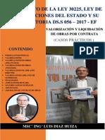 VALORIZACIÓN Y LIQUIDACION DE OBRAS POR CONTRATA (CASOS PRÁCTICOS.pdf