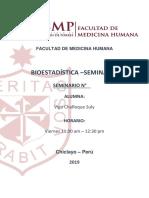 CARATULA SEMINARIO BIOESTADISTICA