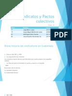 Sindicatos y Pactos Colectivos - Grupo 16
