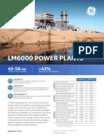 Lm6000 Power Plants