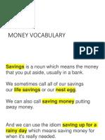 Money Vocab