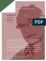 empiricism and its fallacies