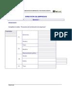 BA Economía 3 Dirección Empresas